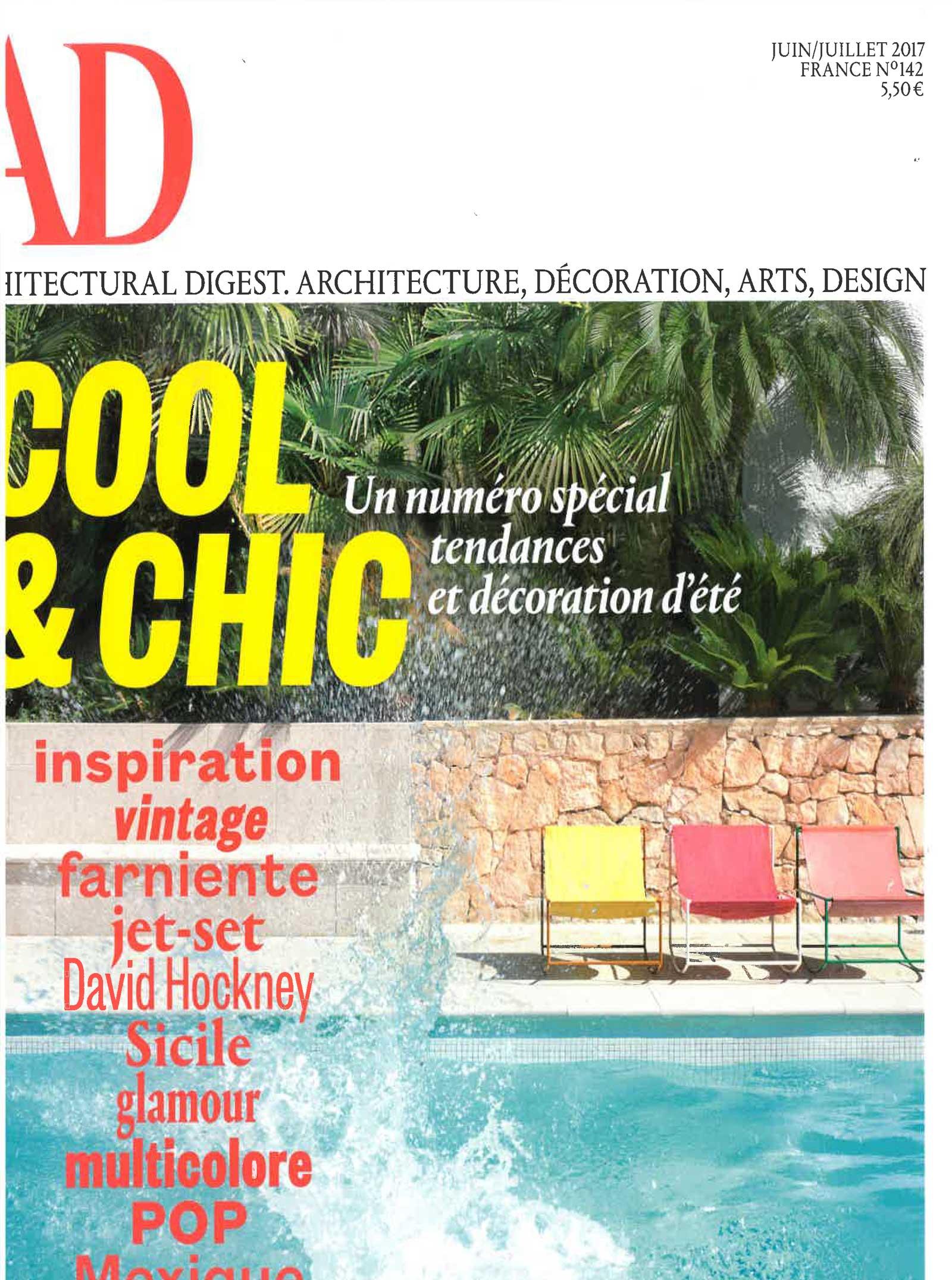 Art Et Decoration Juin 2017 ad - france   cc-tapis