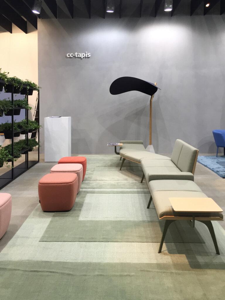 Cc tapis at orgatec 2016 with italian office furniture for Tapis italien design