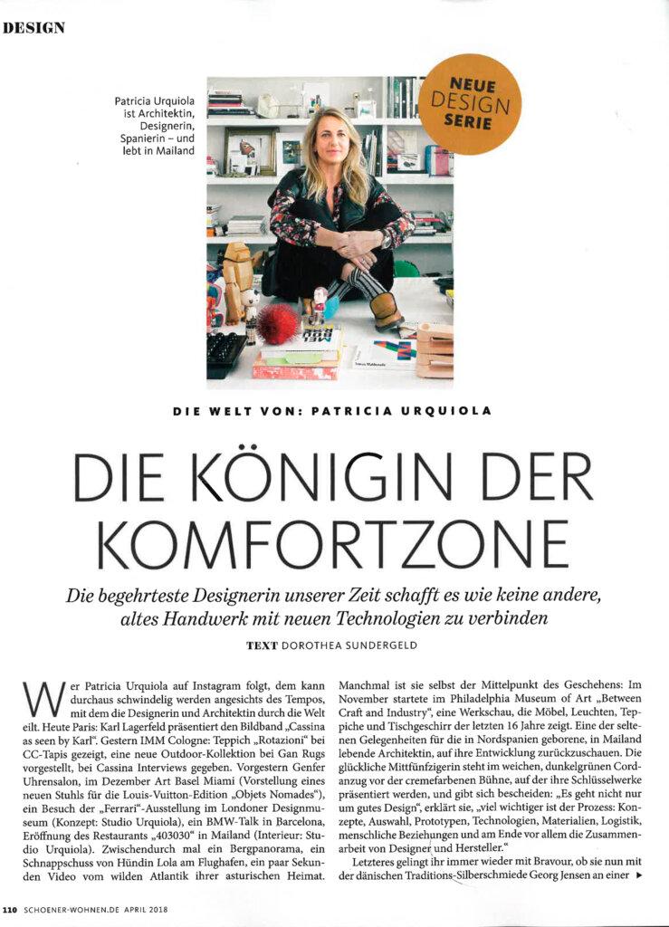 Schoner Wohnen, Patricia Urquiola, cc-tapis, handmade rugs
