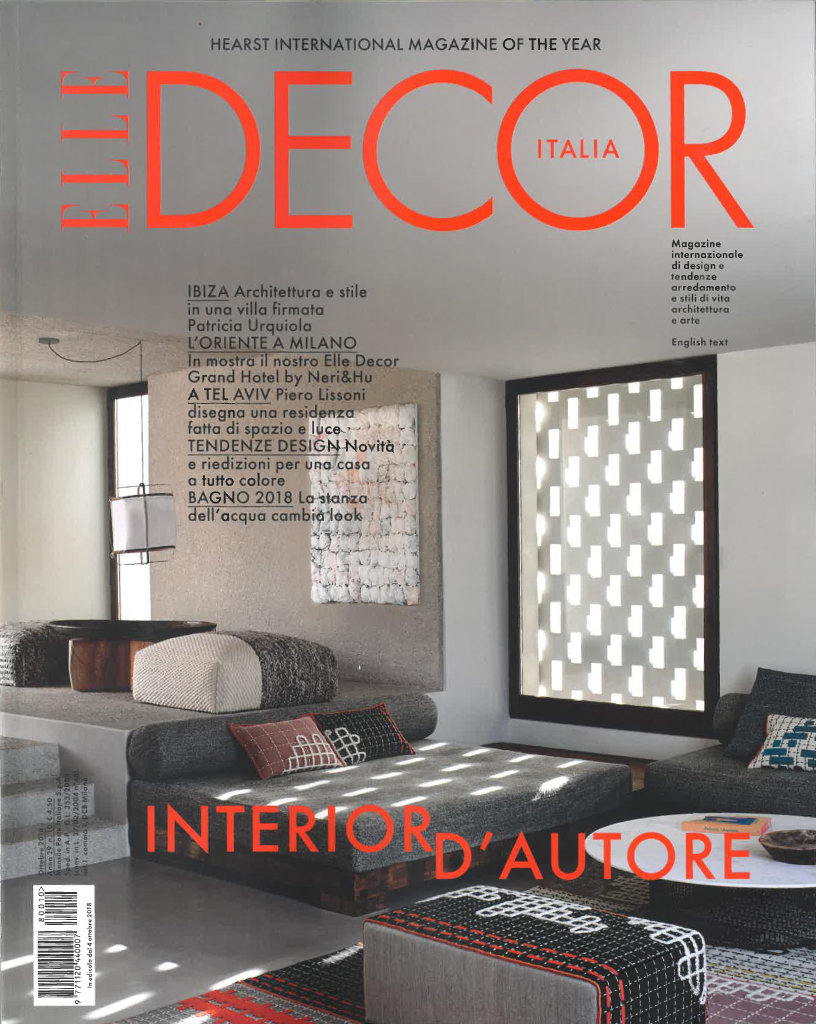 Mostra Design Milano 2018 elle decor - italy | cc-tapis