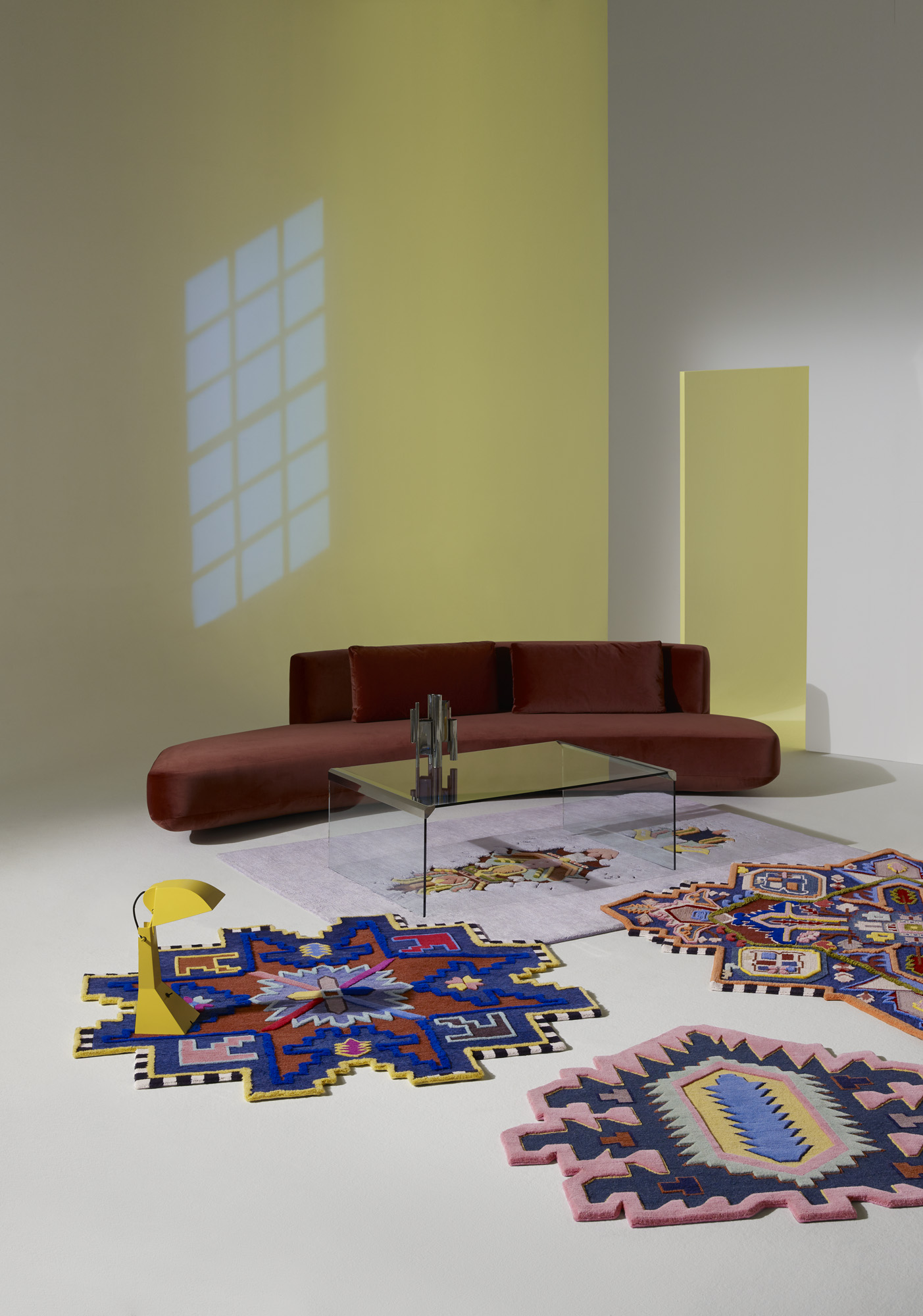 Cc Tapis Rug Invaders Collection New Classic Collection
