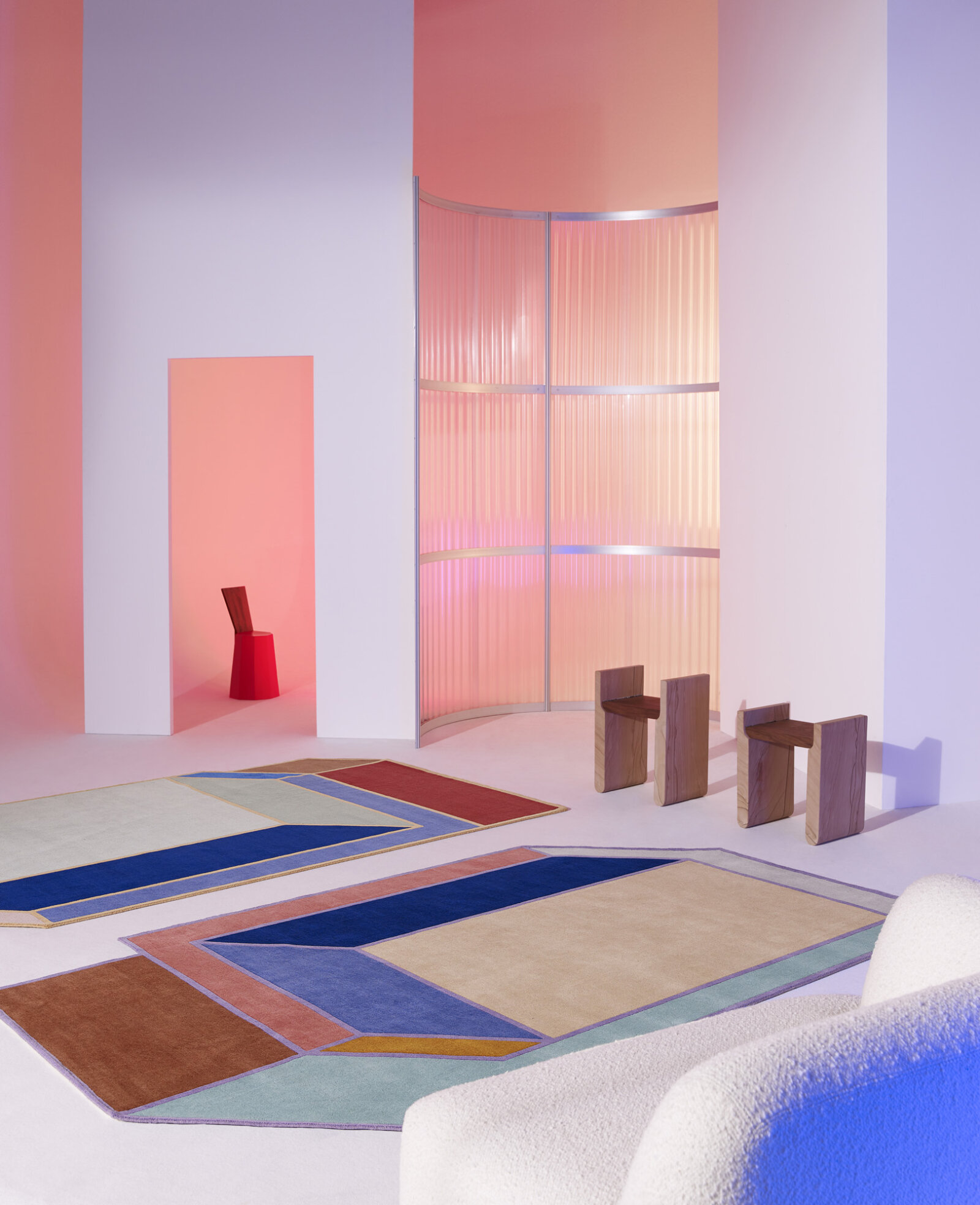 Patricia Urquiola Design.Cc Tapis Visioni Collection By Patricia Urquiola